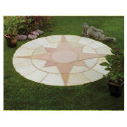 stone mini star circle patio kit 1.8m