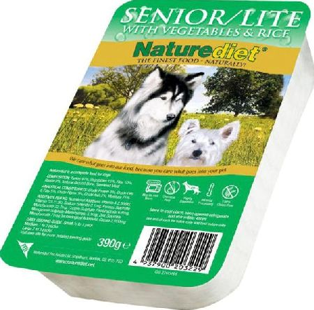 Naturediet, 2102[^]0138638 Senior/Lite Dog Food