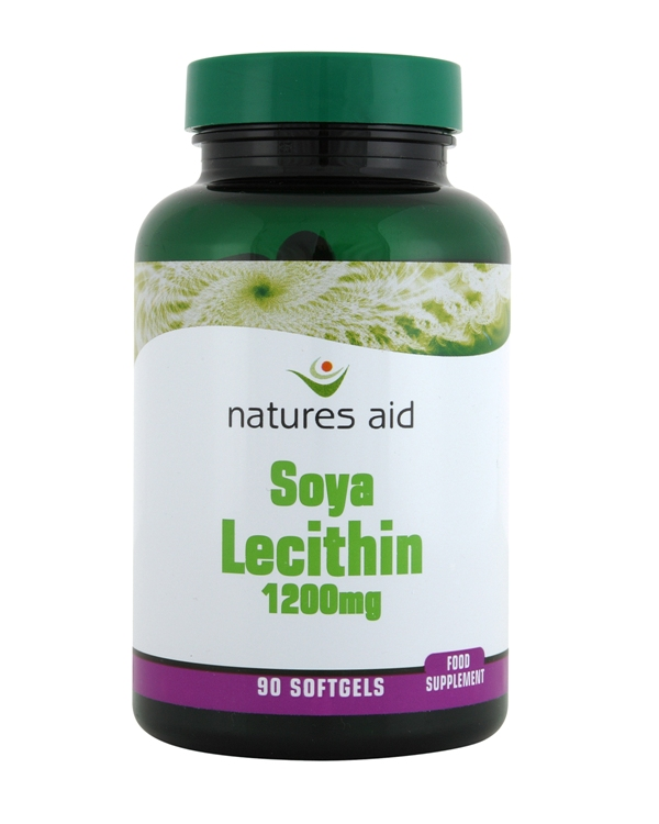 Lecithin 1200mg. 90 Capsules