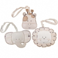 A set of 3 organic toy rattles  just perfect for attaching to your baby`s pram  cot or car seat.Thes - CLICK FOR MORE INFORMATION