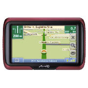 M400 Europe Satellite Navigation