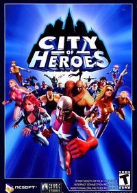 NCSoft City of Heroes PC