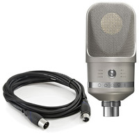 Neumann TLM 107 Microphone Nickel with FREE