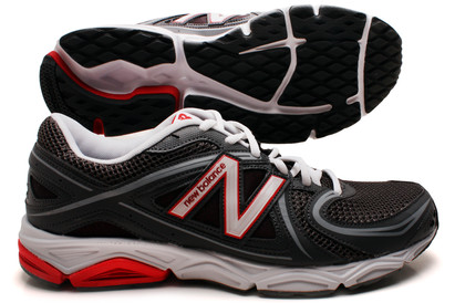 580 V3 D Mens Running Shoes Grey/Red