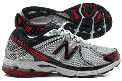 770 V2 Mens Running Shoes White/Silver/Red