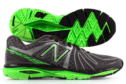 790 V3 D Running Shoes Grey/Green