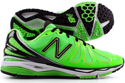 890 V3 Mens Running Shoes Neon Green/Black/White