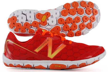 Minimus 10V2 D Fit Running Shoes Red/Orange