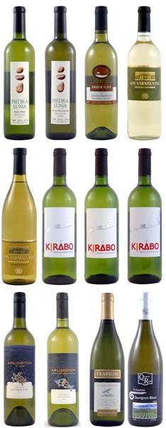A fantastic selection of New World white wines. - CLICK FOR MORE INFORMATION