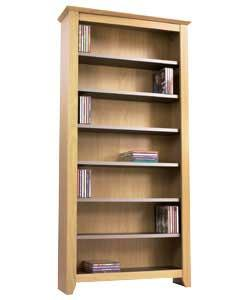 Adjustable shelves in light beech and grey finish. Holds 343 CDs, 175 DVDs or 90 videos or a combina - CLICK FOR MORE INFORMATION