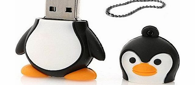 niceEshop (TM) Novelty Cute 8GB Baby Adelie Penguin USB 2.0 Flash Key Pen Drive Data Memory Stick Device product image