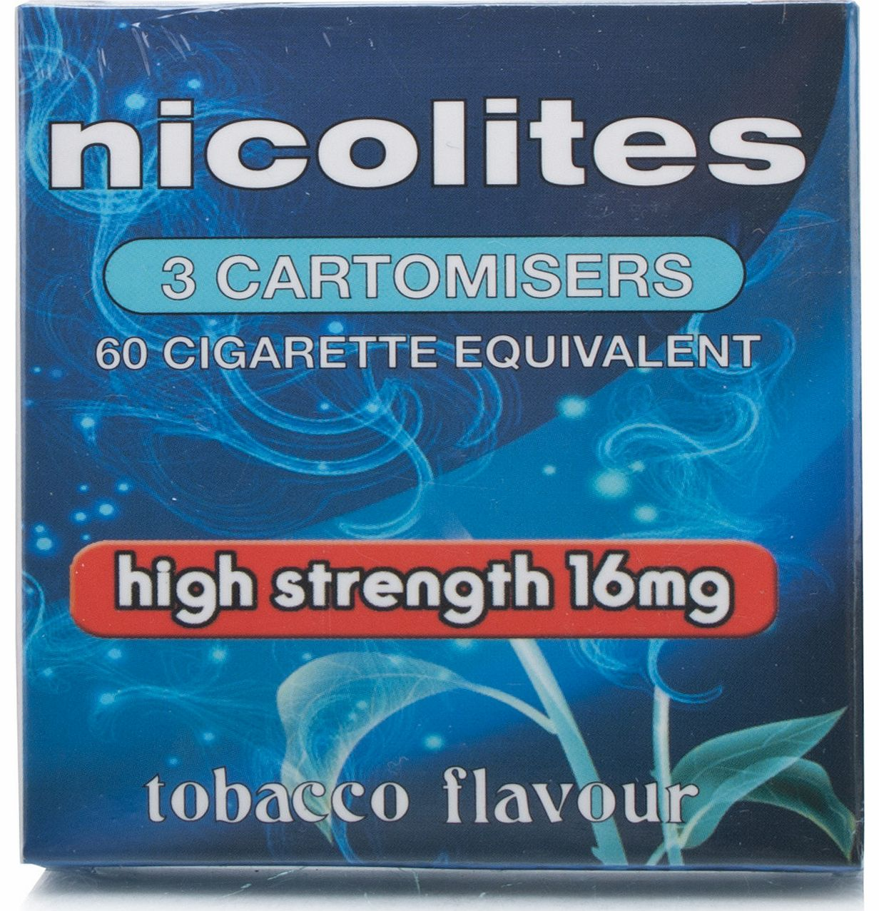 NicoLites Tobacco High Cartomiser (16mg)