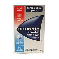 Nicorette Combi Patch + 6 Gums product image