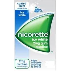 Nicorette icy white 2mg Gum 210 Pieces product image