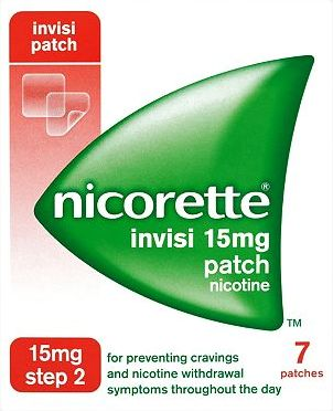 Nicorette, 2041[^]10087629 Invisi 15mg Patch - 7 patches 10087629