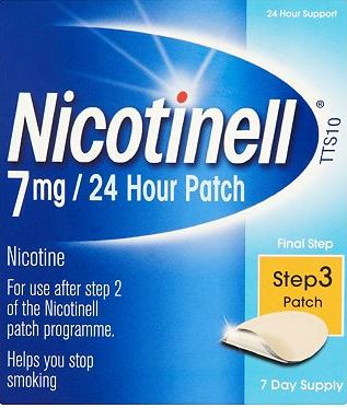 Nicotinell, 2041[^]10014311 7mg/24 Hour Patch Step 3 Patch (7 day
