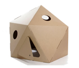 Nigel`s Eco Store Cardboard Paperpod - putting it up is child play product image