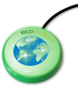 Ecobutton - reduces your computer`s carbon