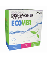 Ecover Dishwasher Tablets 500g - cleans and