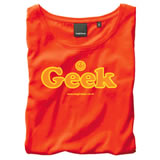 Nigel`s Eco Store Geek Red Eco T-Shirt - light soft and silky product image
