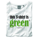 Nigel`s Eco Store Green White Eco T-Shirt - light soft and product image