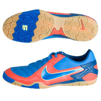 Nike 5 T-3 Indoor Football Trainers - Orange/Blue. product image