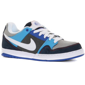 Nike 6.0 Zoom Mogan 2 Skate shoe - Grey/White/Blue