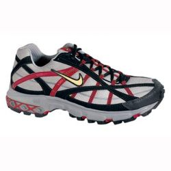 Good all round off road shoe. Nike Air cushioning in the heel provides