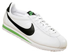 Classic Cortez Leather 09 White/Black/Green