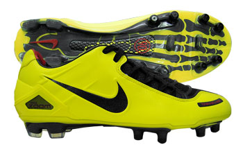 Nike Football Boots Nike Total 90 Laser FG Football Boots Black / Yellow product image