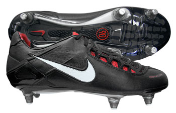 Nike Football Boots Nike Total 90 Laser SG Football Boots Black / Red product image