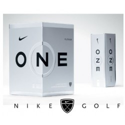 Nike One Platinum II Golf Balls Dozen Pack