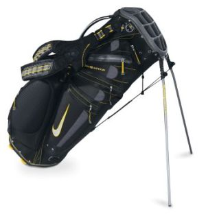 NIKE SASQUATCH TOUR GOLF STAND CARRY BAG Anthracite/Victory Red/Pavement Grey