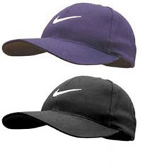 Golf Swoosh with Buckram Cap