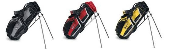 New Nike 2011 Performance Carry Bag (Black/Silver/Red).  Кцжи-4906.