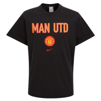 Nike Manchester United Graphic T-Shirt - Black/Red. product image