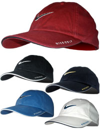 Outlined Swoosh Cap