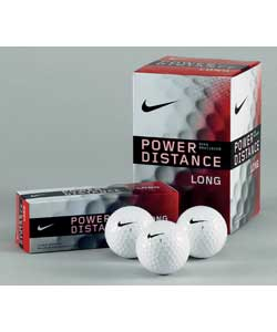 Power Distance Long Golf Balls