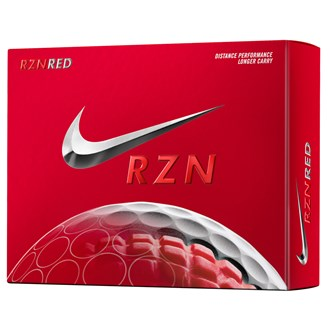 RZN Red Golf Balls (12 Balls) 2014