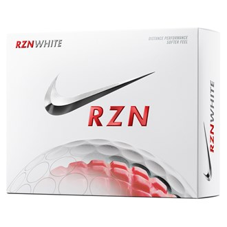RZN White Golf Balls (12 Balls) 2014