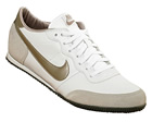 Nike Womens Track Racer White/Pewter Leather