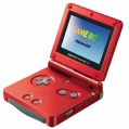 GBA sp red