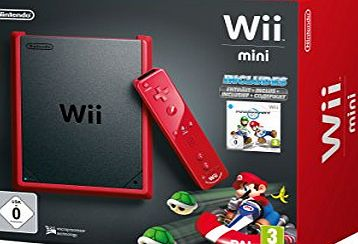 Nintendo of Europe GmbH Nintendo Wii mini - Game console - red, matte black