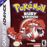 NINTENDO Pokemon Ruby GBA
