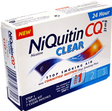 Niquitin CQ Clear Step 1 21mg 7 patches product image
