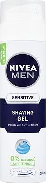 Nivea Men, 2041[^]10005920 Sensitive Shaving Gel 200ml 10005920