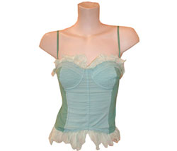 Cotton/silk bustier - CLICK FOR MORE INFORMATION