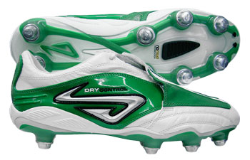Nomis Football Boots  Instinct SG Football Boots White/Green product image