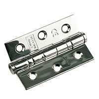 Non-Branded Ball Bearing Hinge Polished Stainless 76mm 1Pr product image