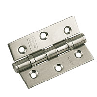 Non-Branded Ball Bearing Hinge Satin Stainless Steel 76mm 1Pr product image